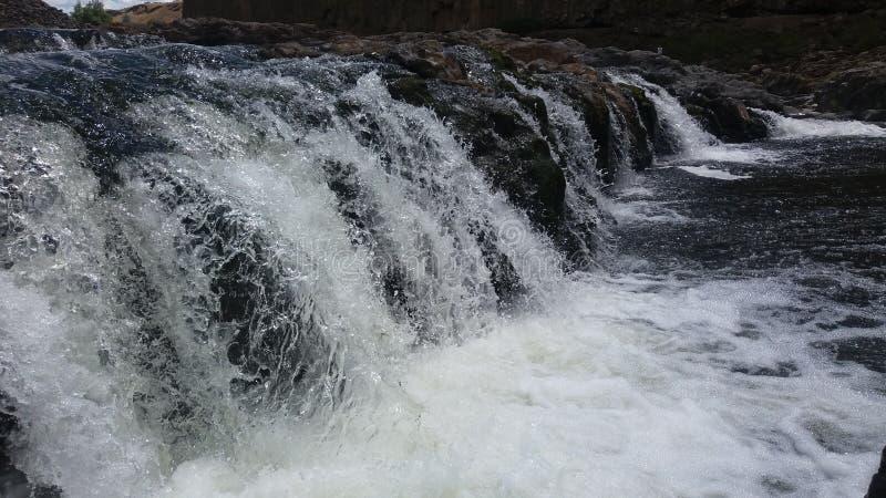 Wasserfälle lizenzfreies stockbild