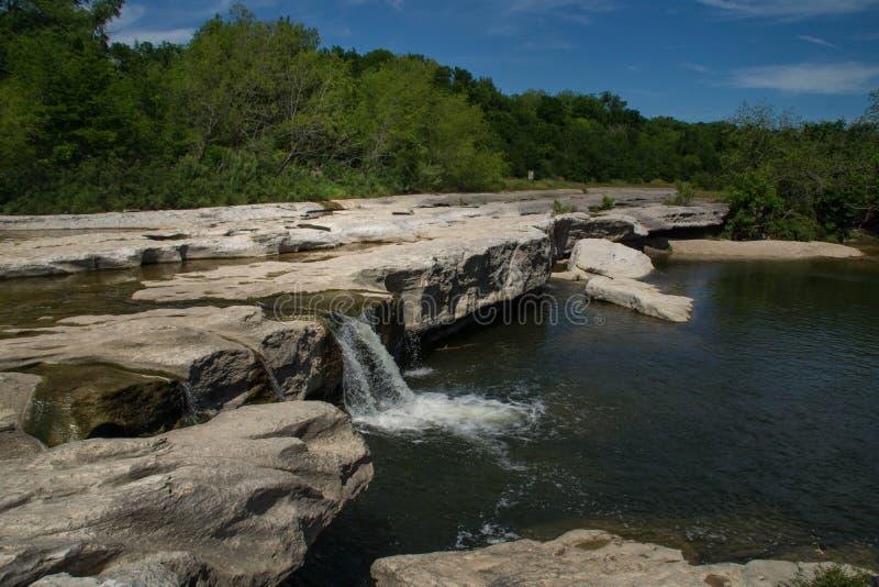 Wasserfälle EL Camino Real lizenzfreie stockfotos