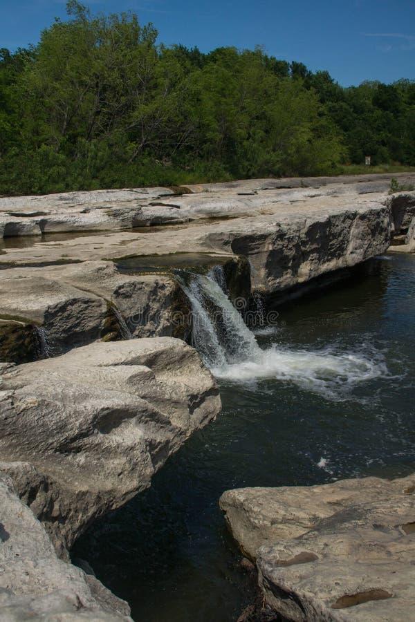 Wasserfälle EL Camino Real lizenzfreie stockbilder