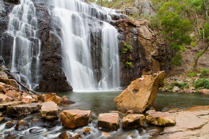 Wasserfälle - McKenzie-Fälle lizenzfreie stockfotos