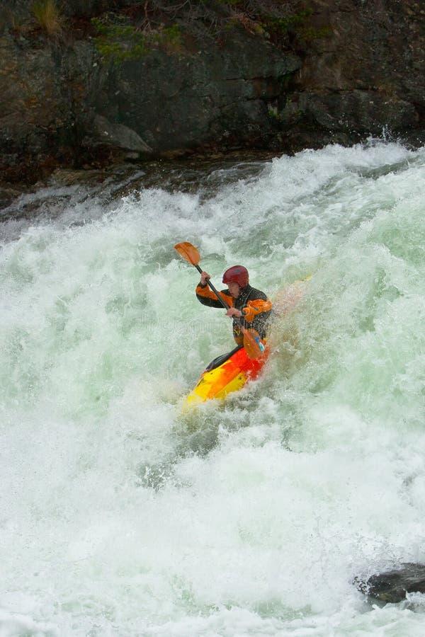 Wasserfälle in Norwegen lizenzfreies stockbild