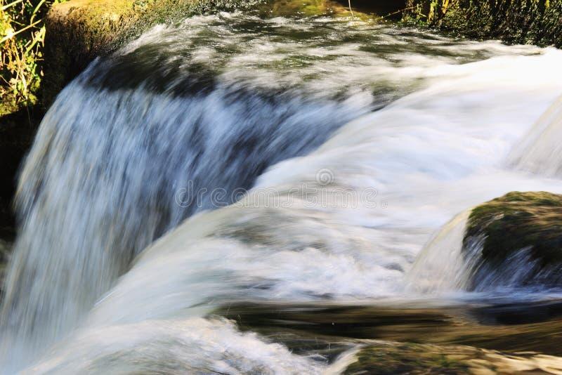 Wasserfälle von Livenza-Fluss lizenzfreie stockbilder