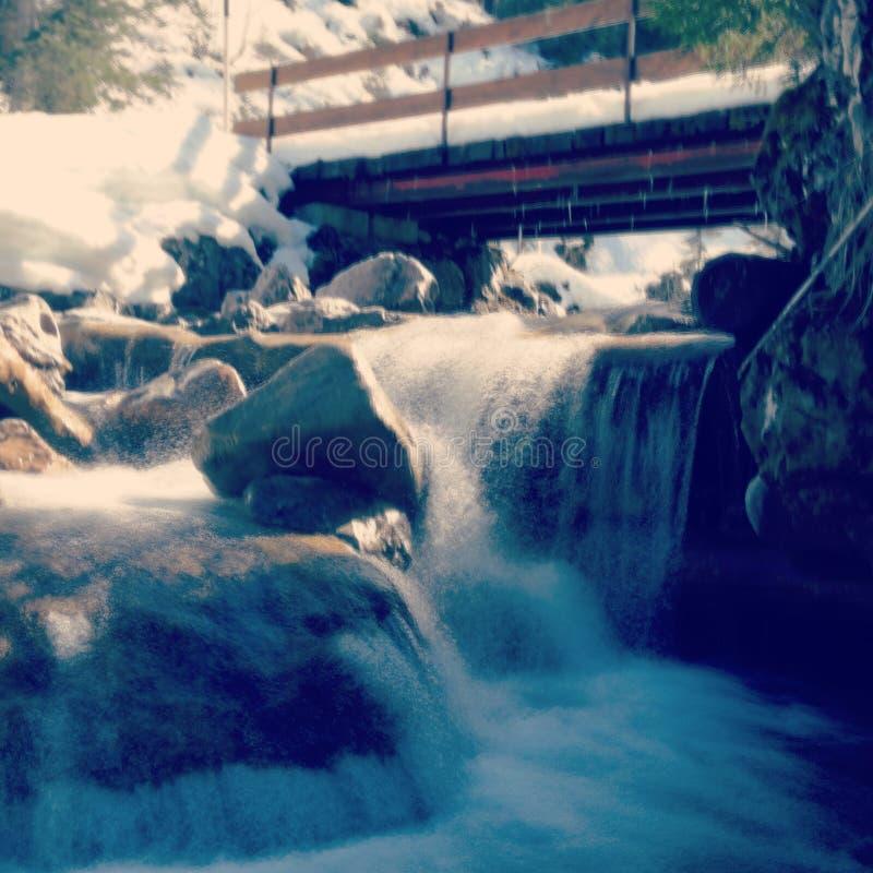 Wasserfall - Österreich stockfotos