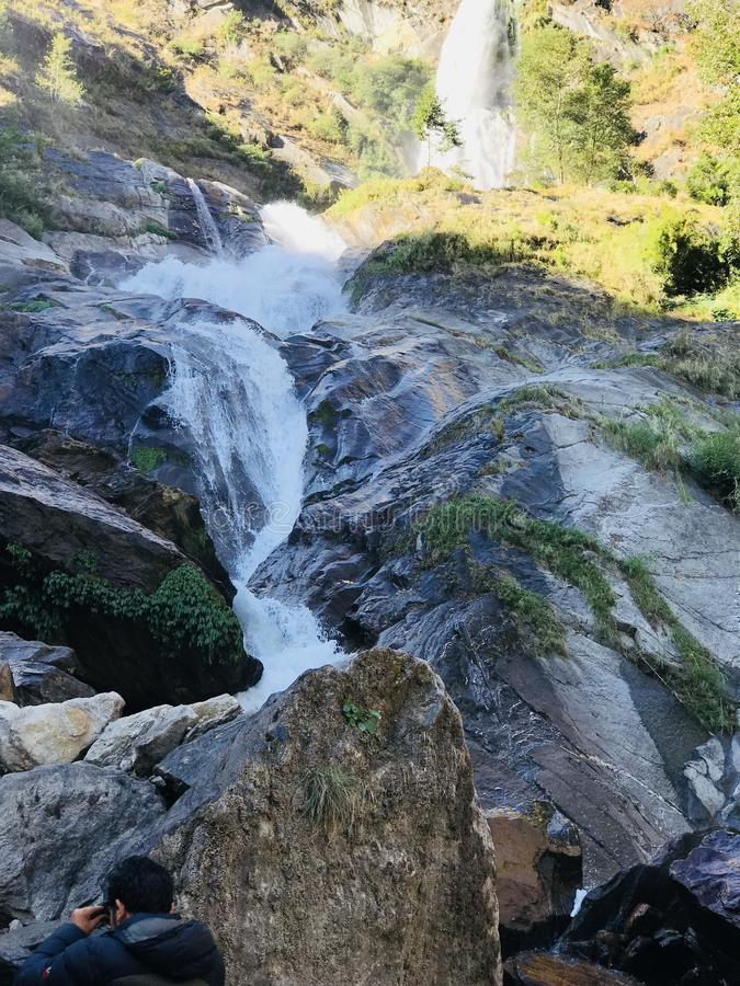 Wasserfall lizenzfreies stockfoto