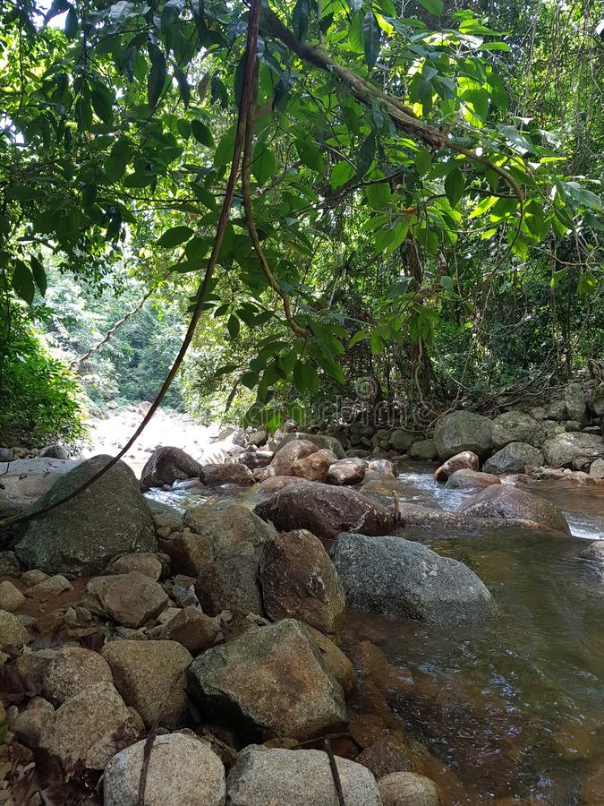 Wasserfall chanthaburi Thailand lizenzfreies stockbild
