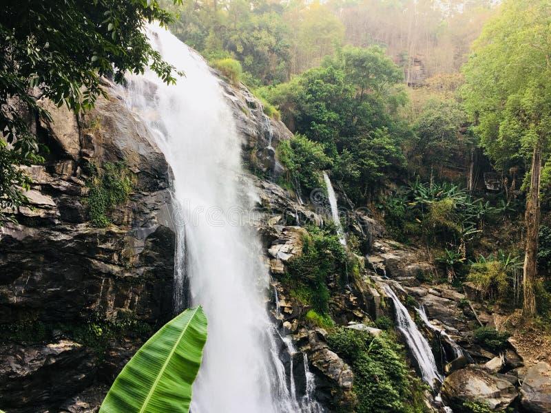 Wasserfall Chiangmai Thailand stockfotografie