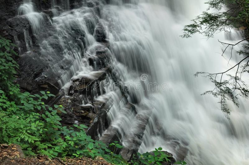 Wasserfall-Detail lizenzfreie stockfotografie