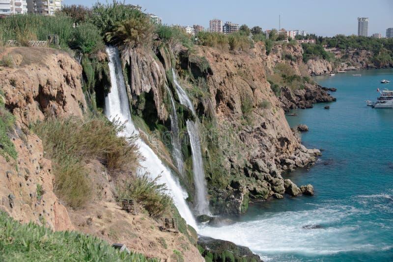 Wasserfall Duden stockbild