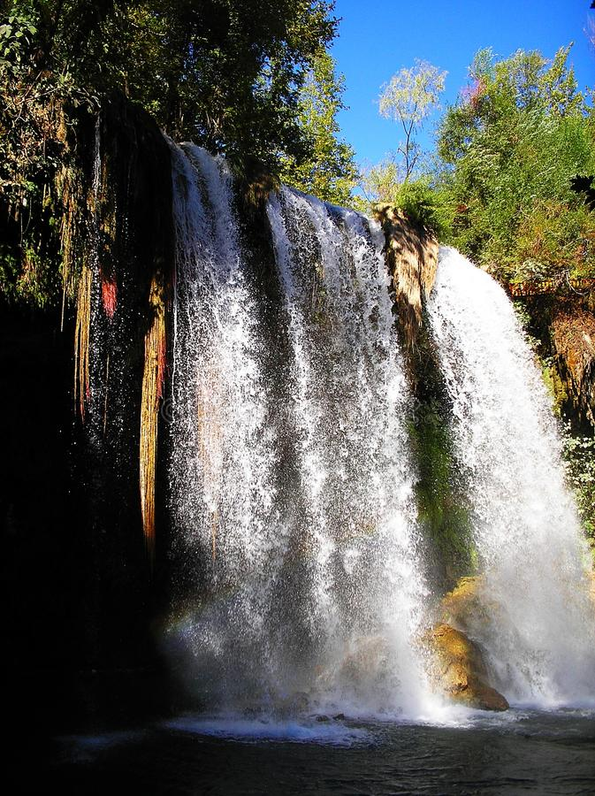 Wasserfall Duden, Antalya lizenzfreies stockfoto