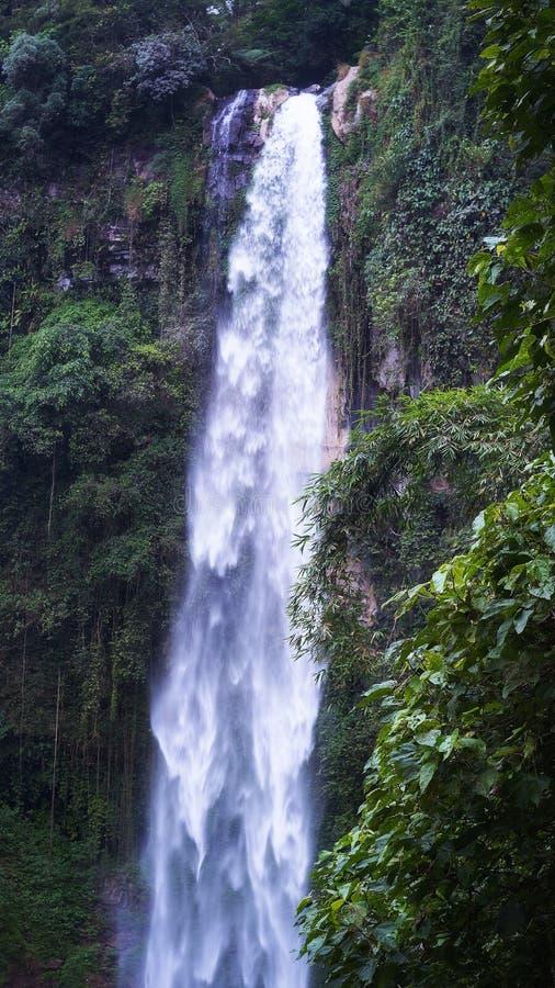 Wasserfall Grojogan Sewu stockfoto