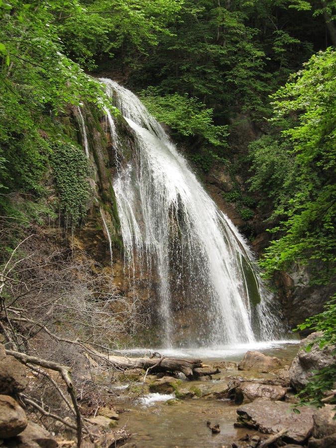 Wasserfall Jur-Jur, Ukraine, Krim stockbilder