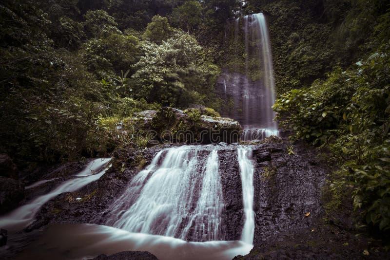 Wasserfall Jurang Manten lizenzfreie stockfotografie