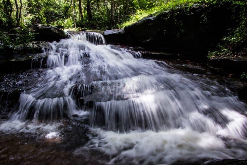 Wasserfall, Khum-Som-Wasserfall, Muang-Bezirk, Sakon Nakhon, Thailand lizenzfreie stockfotos