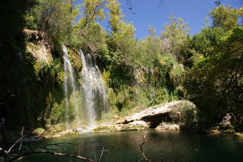 Wasserfall Kursunlu lizenzfreie stockbilder