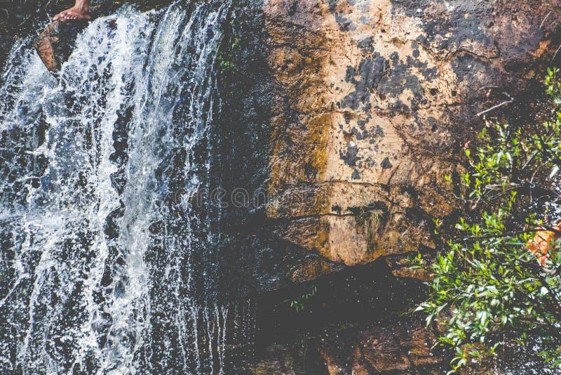Wasserfall in Minas Gerais stockbilder