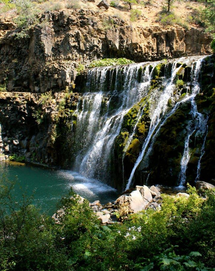 Wasserfall Nord-Kalifornien lizenzfreies stockfoto