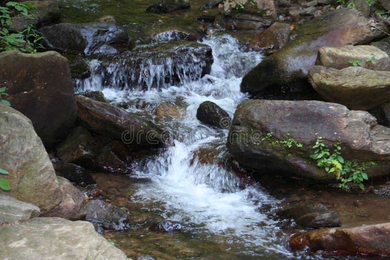 Wasserfall in Nordgeorgia stockfotografie