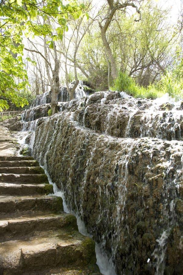 Wasserfall und treppe stockfoto bild von wasserfall wand - Wasserfall wand ...
