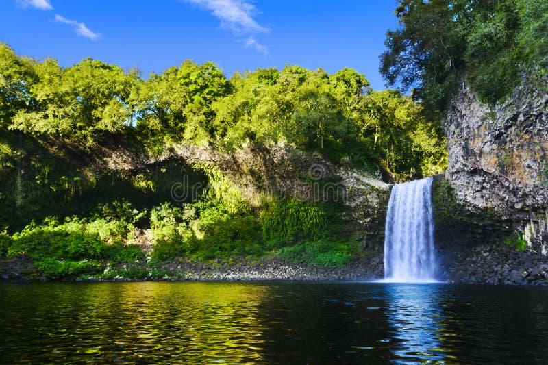 Wasserfall von Bassin-La Paix, Reunion Island lizenzfreie stockbilder
