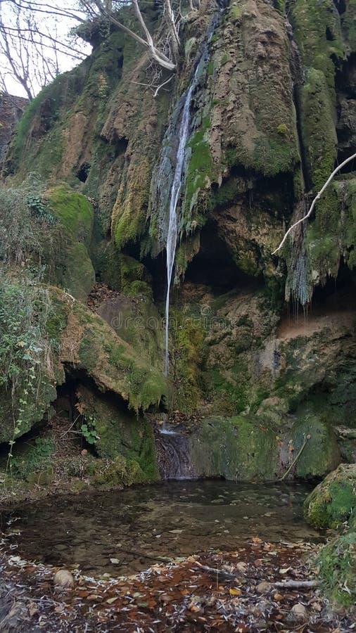 Wasserfall, wenn Serbien überrascht wird lizenzfreies stockfoto