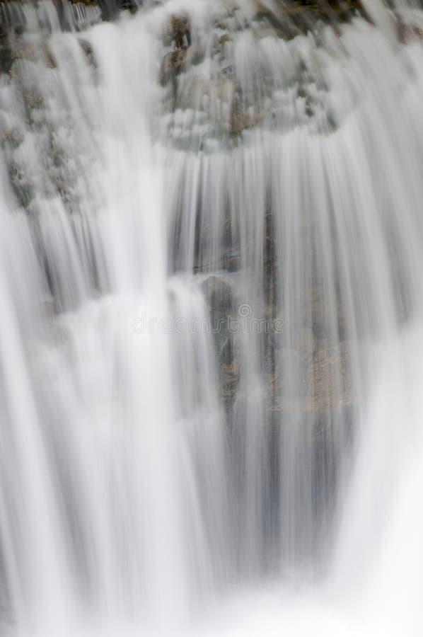 Wasserfalldetail stockfotografie