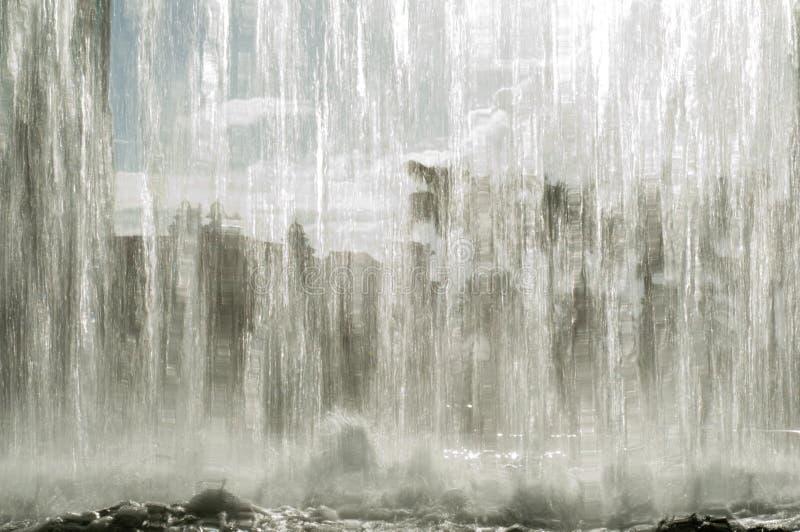 Wasserfallhintergrund lizenzfreies stockbild