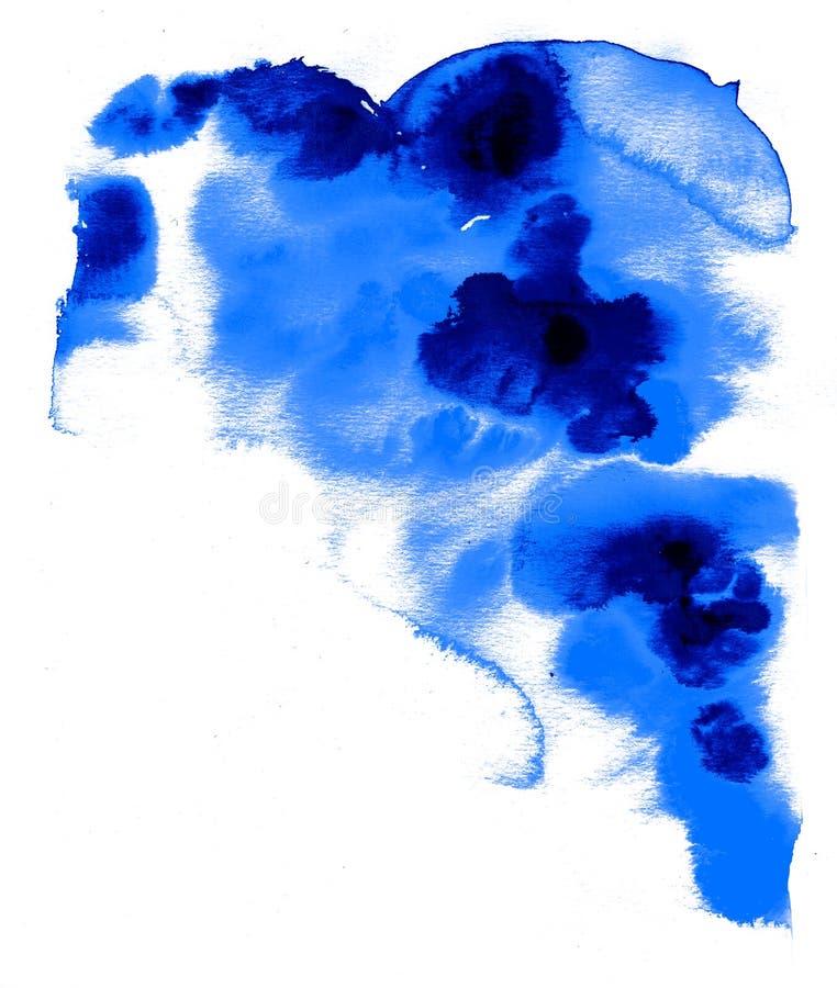 Wasserfarbenbeschaffenheiten lizenzfreie stockfotos