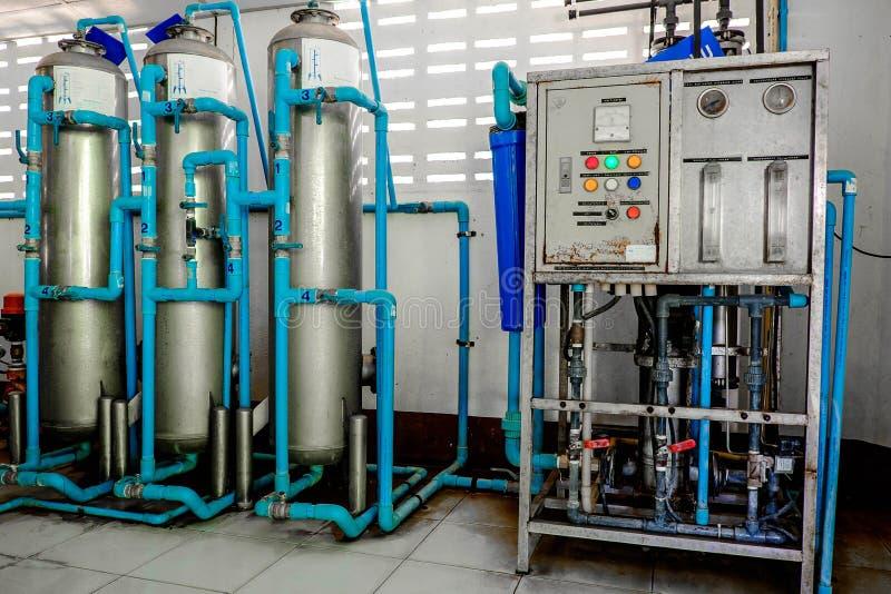 Wasserfiltrationssystem stockbild