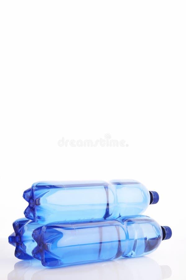 Wasserflaschen lizenzfreies stockbild