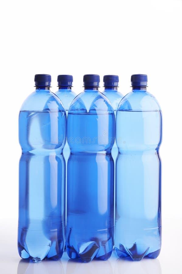 Wasserflaschen stockfotos