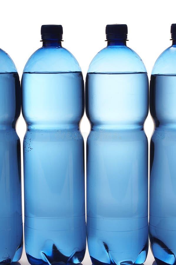 Wasserflaschen stockbild