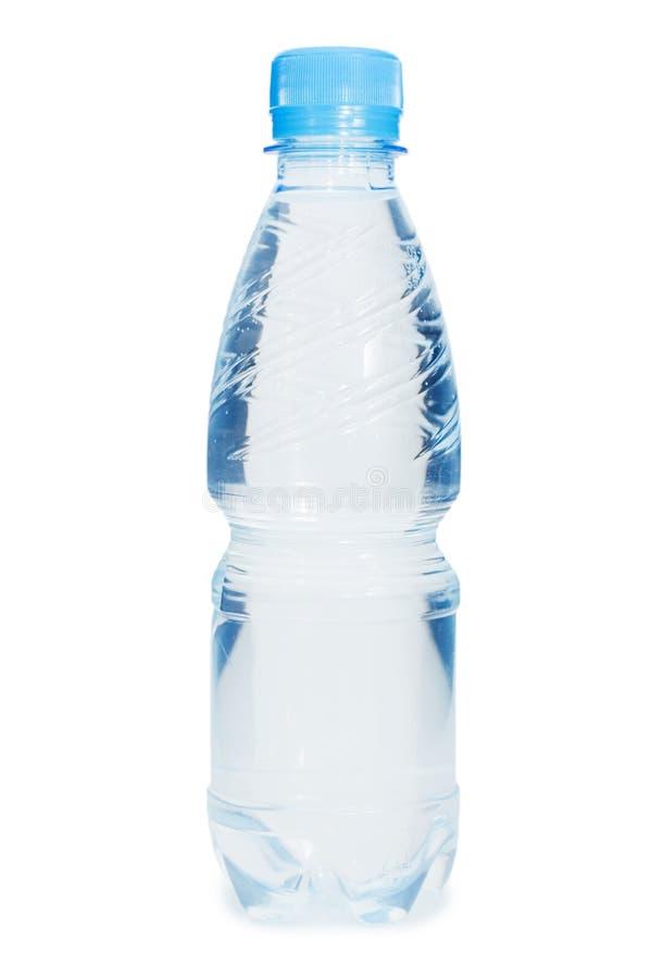 Wasserflaschen getrennt lizenzfreies stockfoto