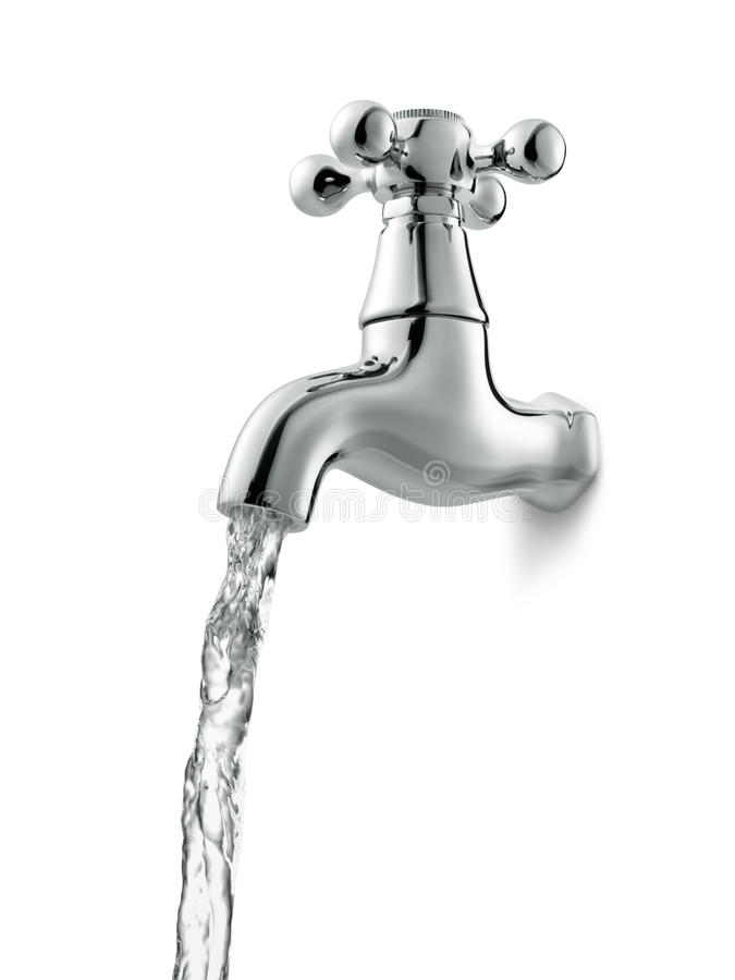 Wasserhahn lizenzfreies stockbild