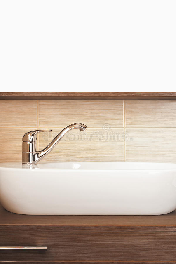 Wasserhahn stockbild