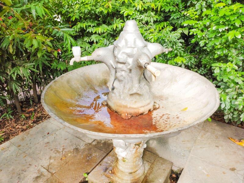 Wasserhahn in kolkata allgemeinem Park s lizenzfreies stockbild