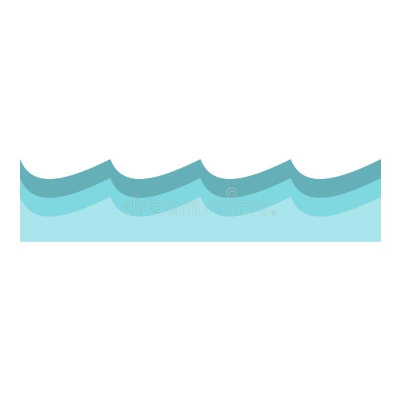 Wasserikone lokalisiert vektor abbildung