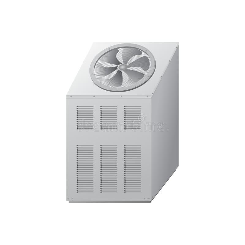 Wasserkühler für das Abkühlen lizenzfreie abbildung