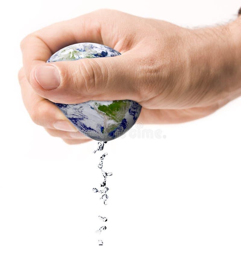 Wasserknappheit stockbilder