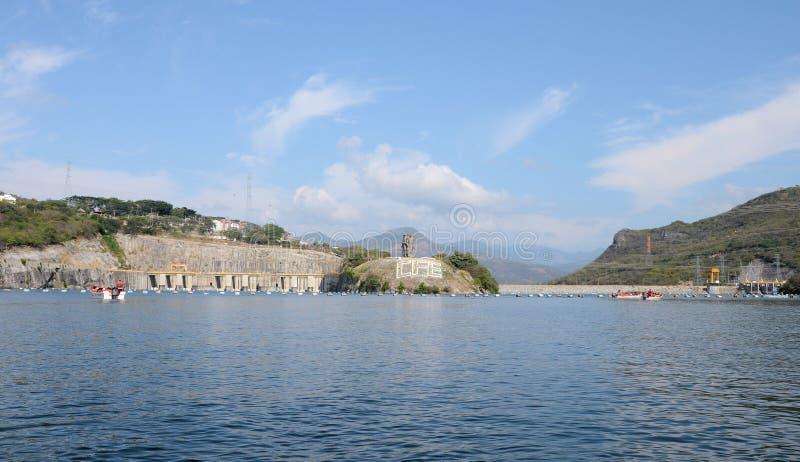 Wasserkraftwerk Chiapas Mexiko Chicoasen stockfotos