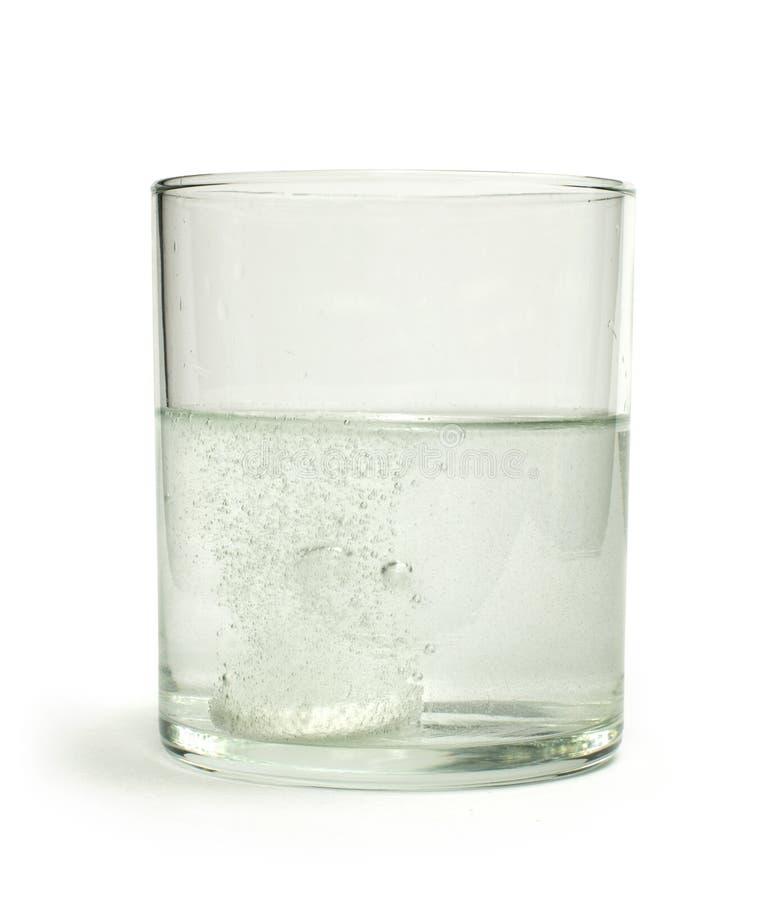 Wasserlösliches Aspirin Stockfotografie