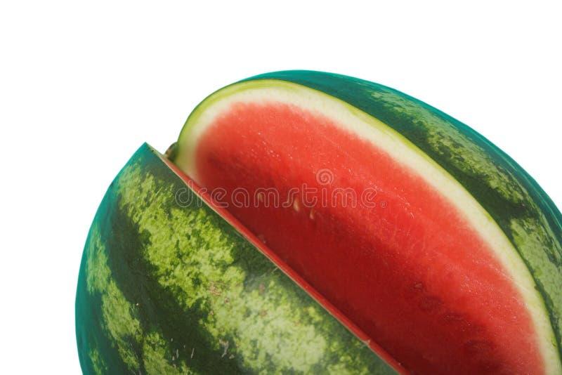 Wassermelone, Ausschnittspfad stockfotografie