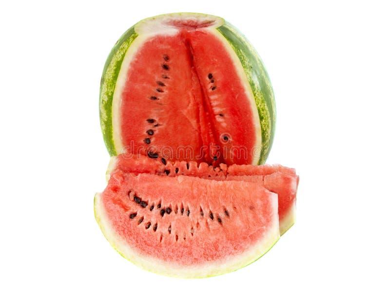 Download Wassermelone getrennt stockfoto. Bild von teil, diät - 27726164