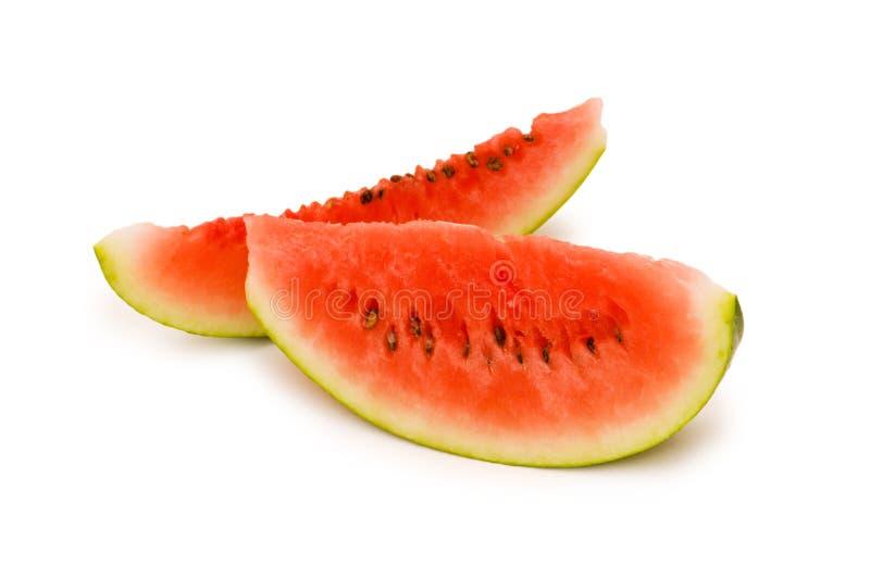 Wassermelone getrennt lizenzfreies stockfoto