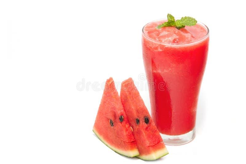 Wassermelone Smoothie lizenzfreie stockbilder