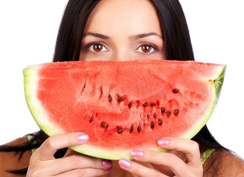 Wassermelonediät stockbild