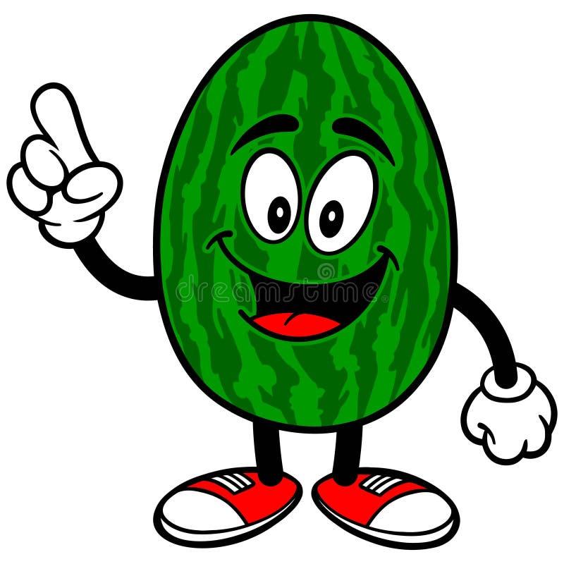 Wassermelonen-Unterhaltung vektor abbildung