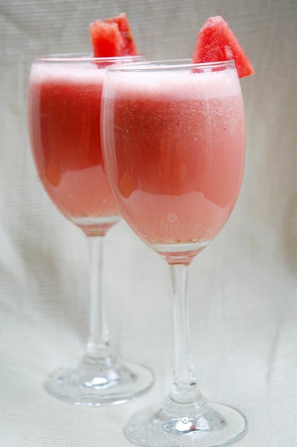 Wassermelonesaft stockfotos