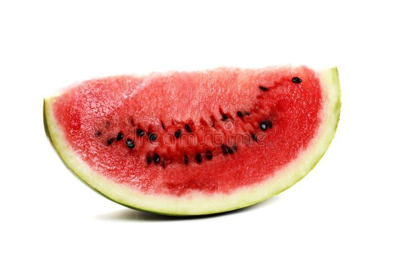 Wassermelonestück stockfoto