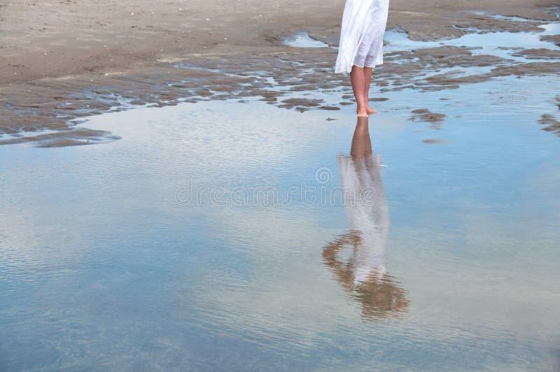 Wasserreflexion stockbild