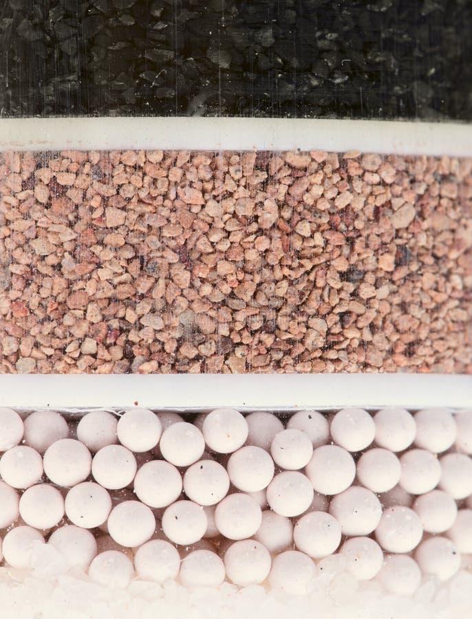 Wasserreinigungfilter - Nahaufnahme lizenzfreie stockbilder
